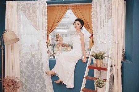 【棚拍婚紗】美式清新。輕婚紗禮服