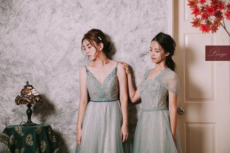 【閨蜜寫真x韓系輕婚紗】同星座的我們💜