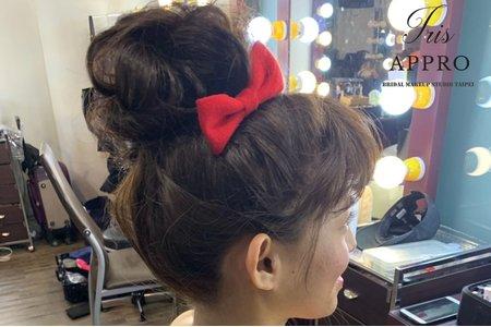 日系俏麗盤髮造型分享~