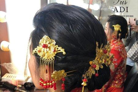 中式盤髮造型推薦~😊