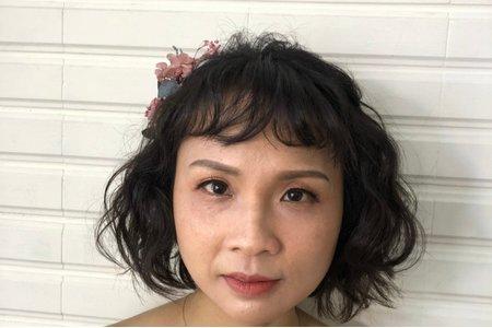 俏麗甜美的短髮造型