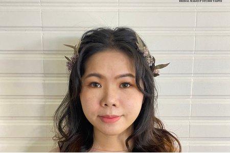 森林系甜美公主髮型😊分享~