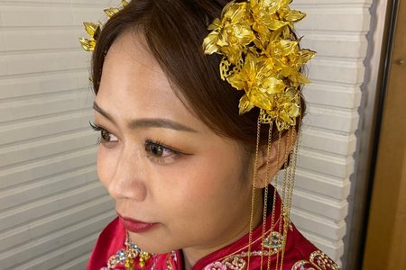 中式編髮造型分享~