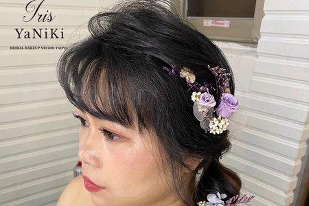 日系甜美編髮造型分享