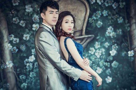 台北新娘秘書*boa寶兒*經典旁分造型