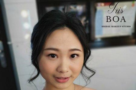 自然清新妝髮造型~😘