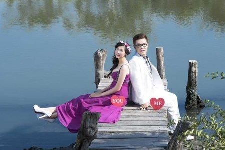 台北﹣新娘秘書千雅﹣馬尾造型
