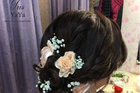 甜美氣質編髮造型