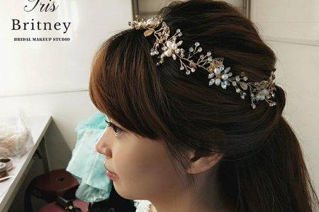 甜美公主頭編髮造型~🤗