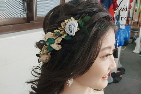 精緻優雅甜美妝髮