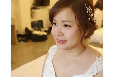 台南新娘秘書/禎樂新娘/眼型調整