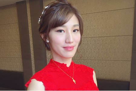 台南新娘秘書/宜君新娘/訂婚造型