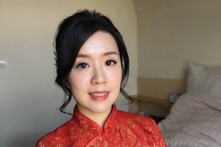 台南新娘秘書/旗袍婉約造型