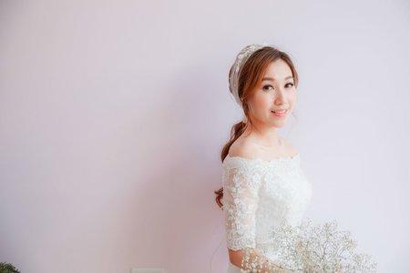 台南新娘秘書/韓系低馬尾