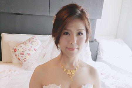 台南新娘秘書/仰薰新娘/單眼皮調整