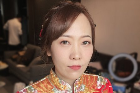 瀞予新娘/龍鳳掛/短髮新娘/台南新秘