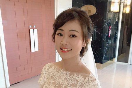 新娘現場婚禮造型