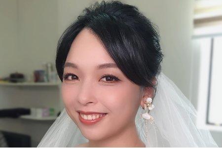新娘試妝整體造型分享