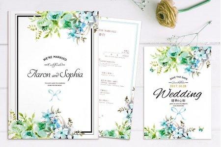 結婚書約夾(結婚證書夾)-免費加贈書約