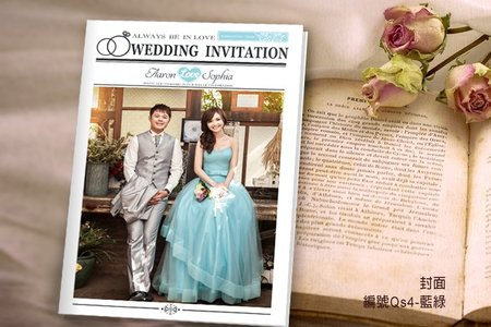 婚禮日報主題喜帖