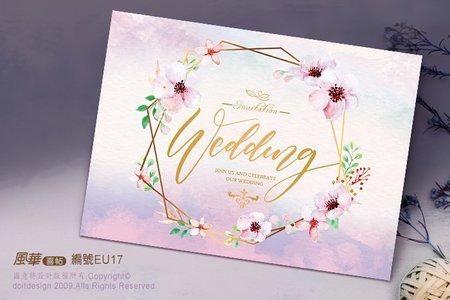 明信片-浪漫花卉系列