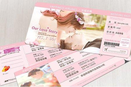 明信片-靚遇粉紅系列