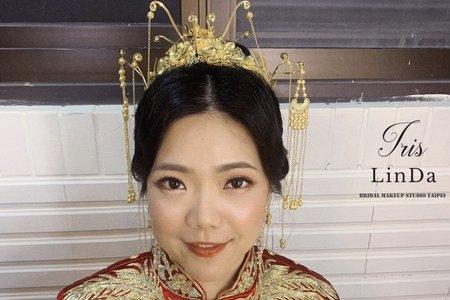 優雅端莊的中式編髮造型