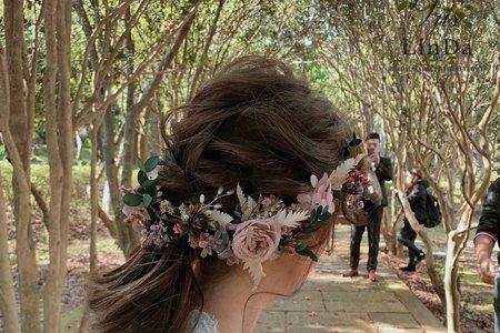 森林浪漫捲髮造型分享~😚