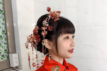 中式花苞頭造型推薦🥰