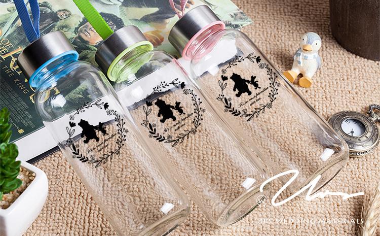 【愛情特調】隨身玻璃瓶作品