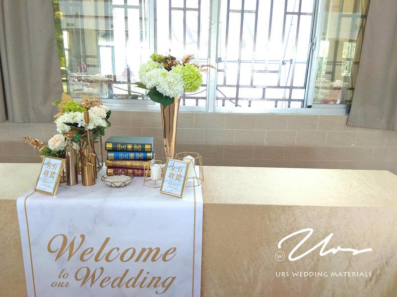白金大理石 / 主題式婚禮佈置作品