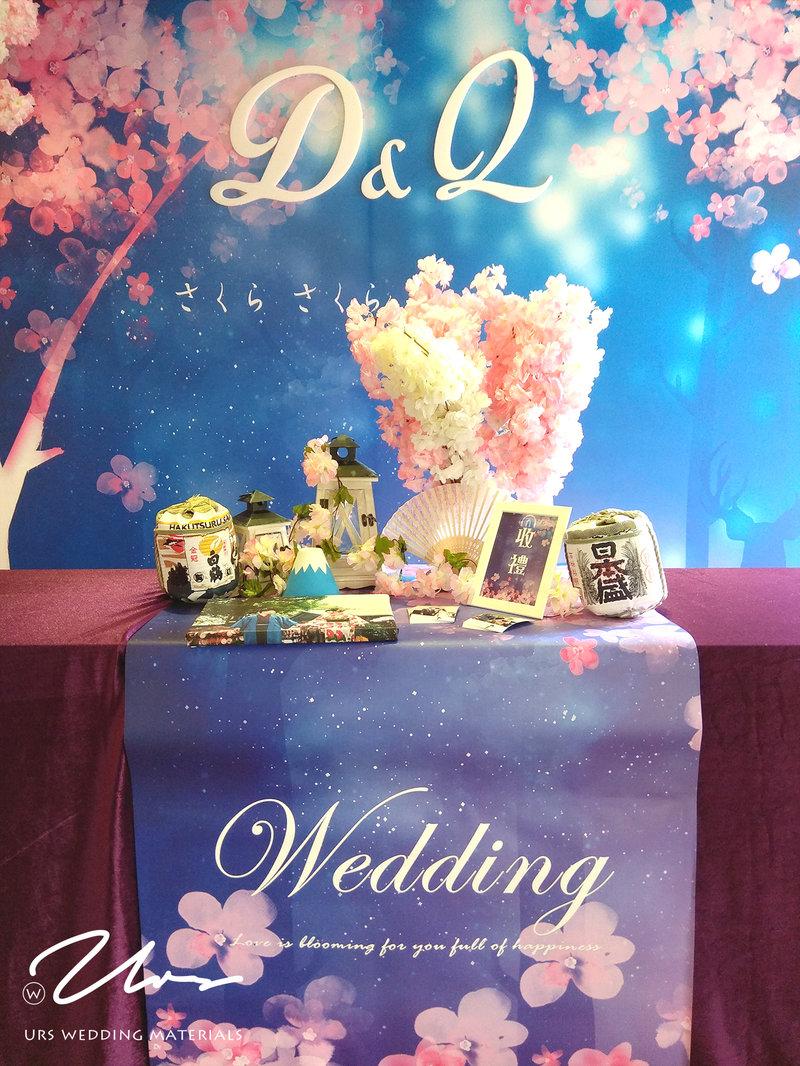 櫻花下的約定 / 主題式婚禮佈置作品