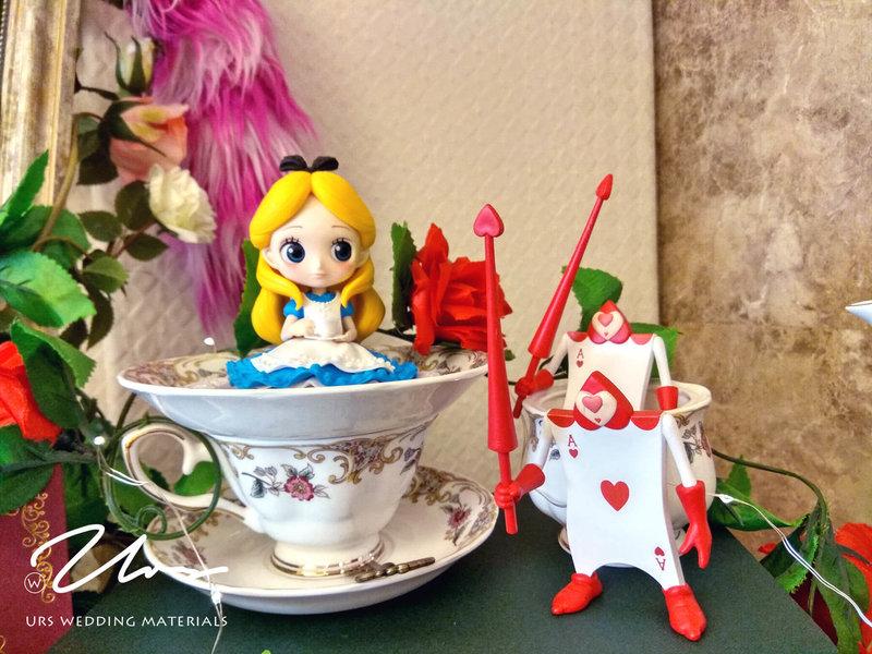 愛麗絲夢遊仙境 / 主題式婚禮佈置作品