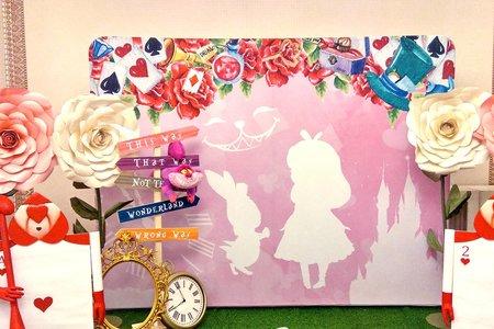 愛麗絲夢遊仙境 / 主題式婚禮佈置