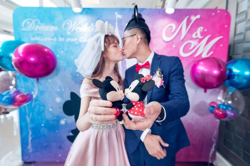 浪漫米奇米妮 / 主題式婚禮佈置作品