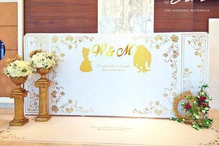美女與野獸 / 主題式婚禮佈置