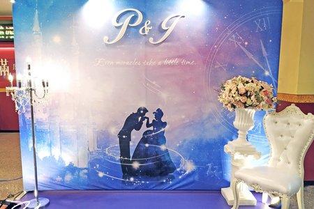 仙履奇緣 / 主題式婚禮佈置
