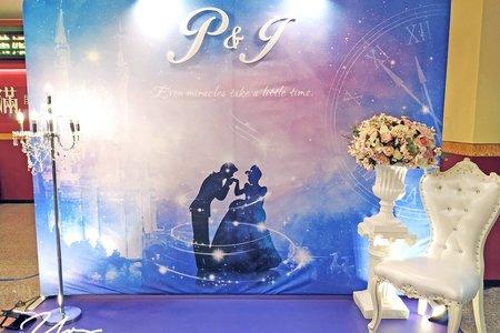 仙履奇缘 主題婚禮佈置