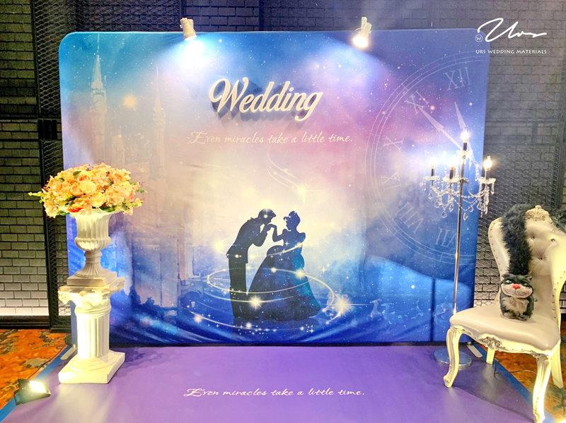 仙履奇缘 主題婚禮佈置作品