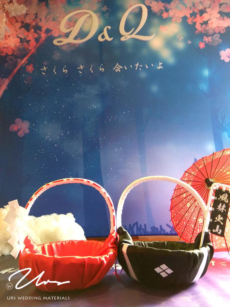 喜糖籃當然也要日系風格!