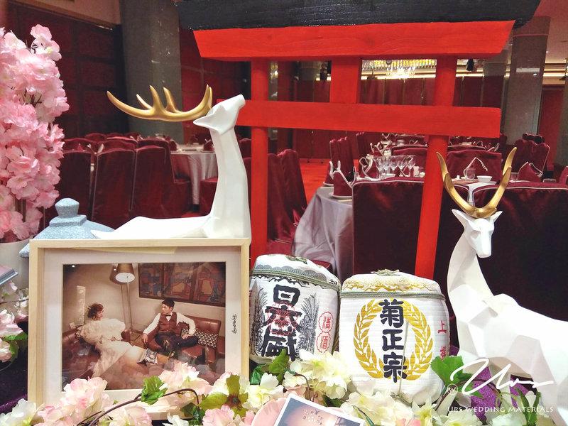 日系櫻花婚禮就完成啦!🎉