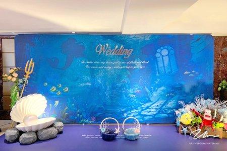 【小美人魚】主題婚禮佈置