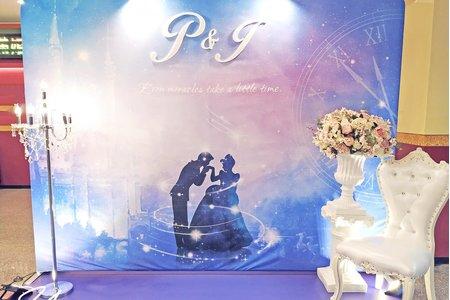 【仙履奇缘】主題婚禮佈置