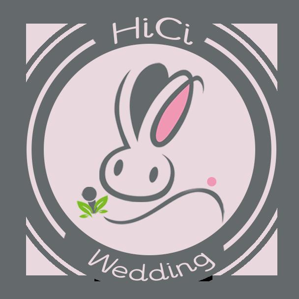 HiCi Wedding-手持綠葉的兔子