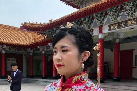 中式經典髮髻造型