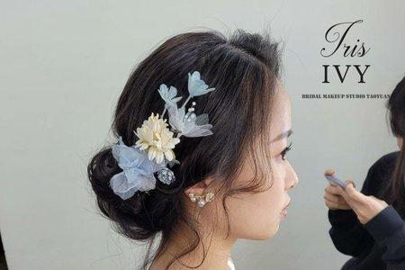 韓系清新低盤髮造型推薦💖
