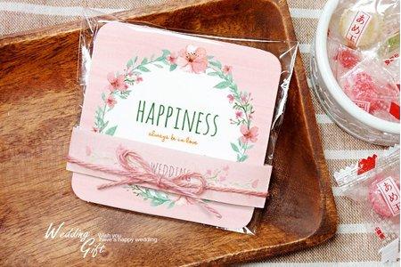 婚禮小物-杯墊喜糖