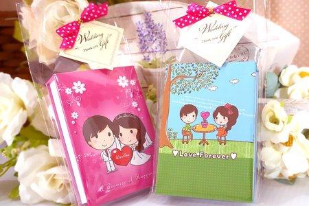婚禮小物-精裝便條紙