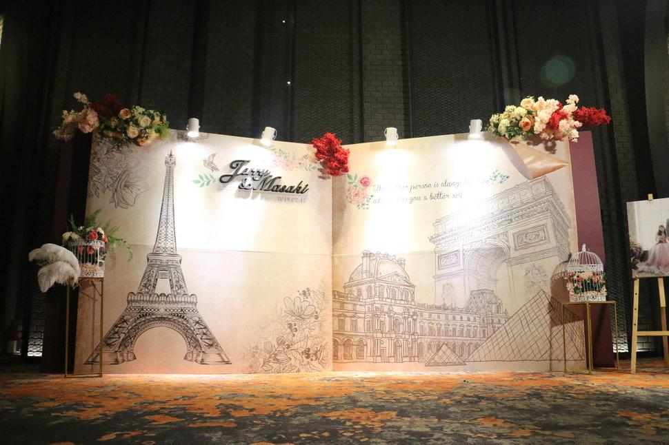 歐克米-童話故事在巴黎 - 歐克米婚禮佈置《結婚吧》