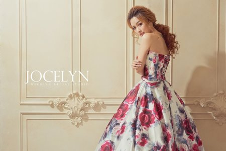 Jocelyn Wedding ♥ 花布系列